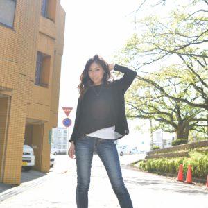 モデル:Sako 撮影:シロモデスタッフ