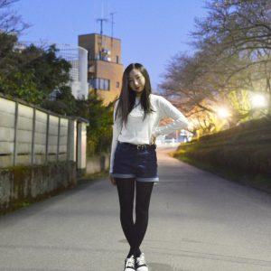 モデル:Lily 撮影:シロモデスタッフ