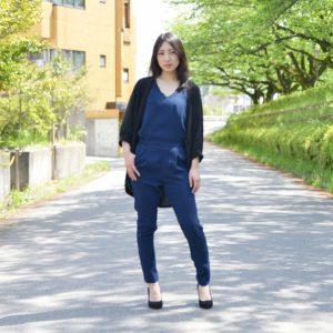 モデル:Aya.K 撮影:シロモデスタッフ