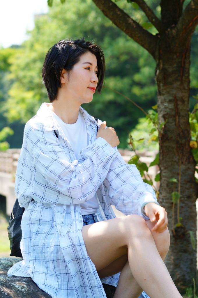 モデル:Masami 撮影:かたつむり